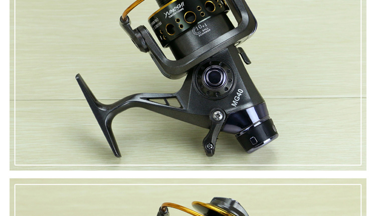 Alta qualidade spinnig roda MG3000 6000 metal