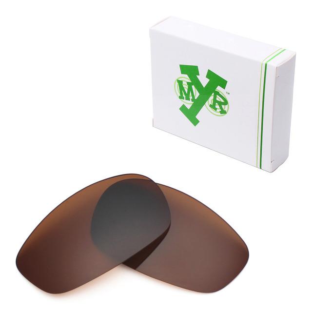 MRY POLARIZADA Lentes de Reposição para Divisão Oakley óculos de Sol Revestimento De Bronze Marrom
