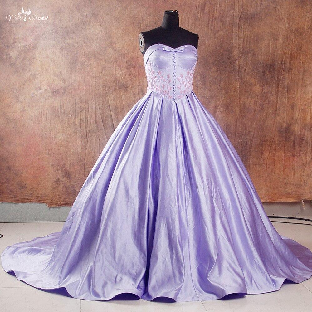 RSE747 robe de bal lilas robes Quinceanera