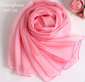 tube harley Turban Hijab Scarves 100% natural silk pashmina designer brand high quality soft pink chiffon foulard hijabe 2015
