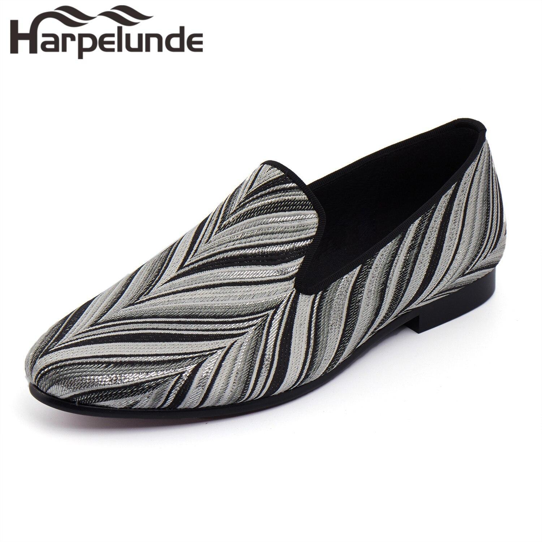 Harpelunde Новое поступление Мужские модельные туфли слипоны Лоферы ручной работы Размеры 6 до 14