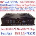 Mini pc windows with i3 dual Intel 82574L Nics HM77 4USB 3.0 4COM 2G RAM 250G HDD WIN7 WIN8 LINUX free drive NAS Free 7 24 hours
