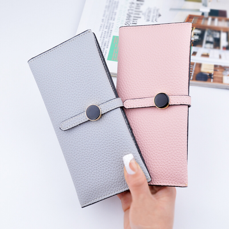 2017 New Casual Women Leather Wallet Zipper Long Hasp Thin Wallet Purses Card Holder High Quality  Ladies Clutch Coin Purse casual weaving design card holder handbag hasp wallet for women