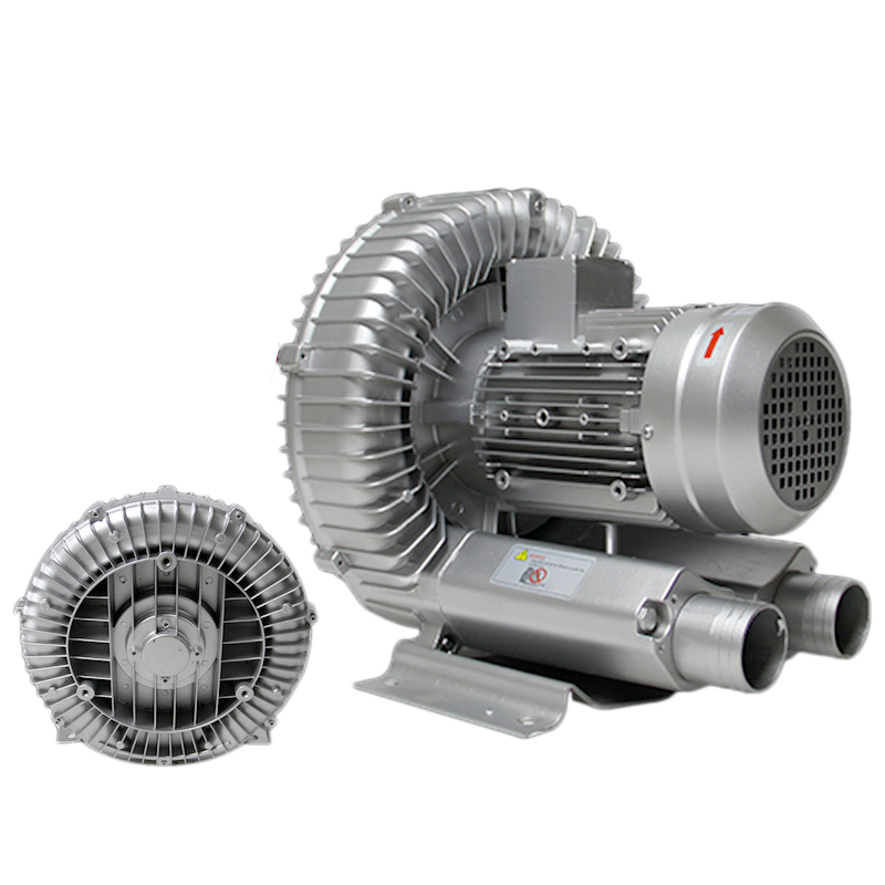 750W Industrial High Pressure Vortex Vacuum Pump 220V 1PH Dry Air Blower for Industrial Machine