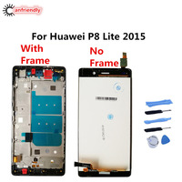 For Huawei P8 Lite 2015 LCD Display Touch Screen Digitizer Assembly Replacement Glass Panel For Huawei