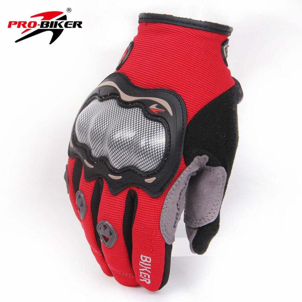 Motorcycle gloves xl - Pro Biker M L Xl Motorcycle Full Finger Gloves Motocross Offroad Racing Dirt