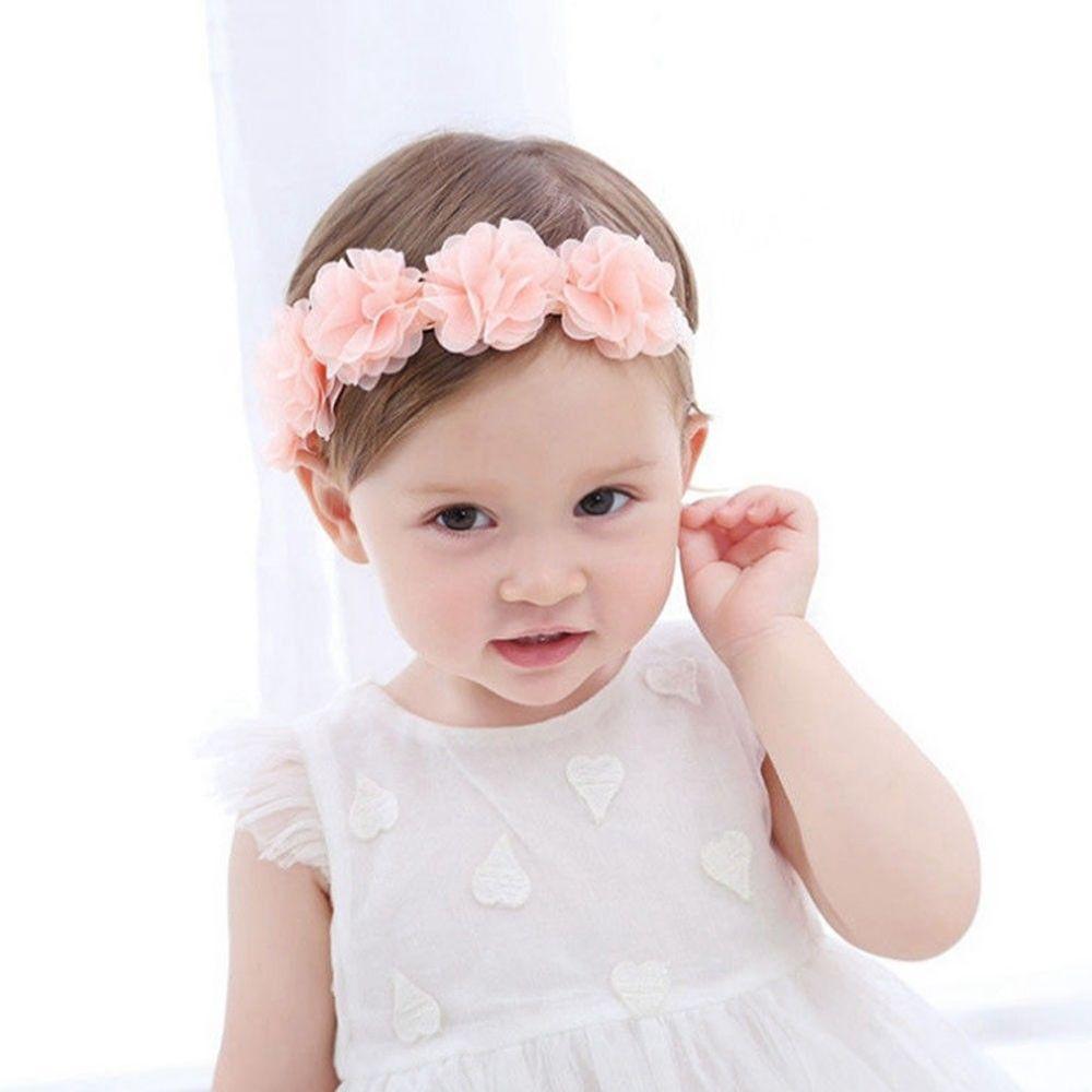 Acquista Pizzo Baby Fascia Chic Pizzo Fiore Principessa Ragazze ... 463087c49771