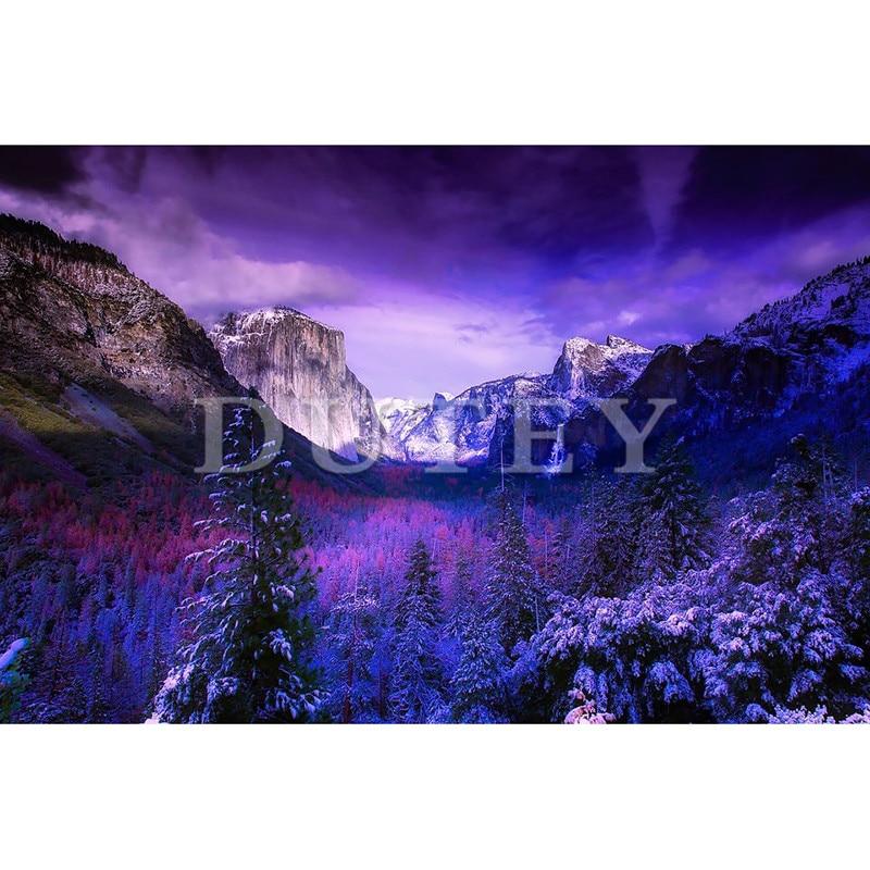 DIY diamante bordado completa/cuadrado/Ronda Nacional de Yosemite pintura diamante Cruz puntada del bordado artesanal de diamantes de imitación mosaico XY1