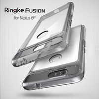 100 Original Ringke Fusion Google Nexus 6P Case Premium Drop Resistance Shockproof Clear Hard Back Cover