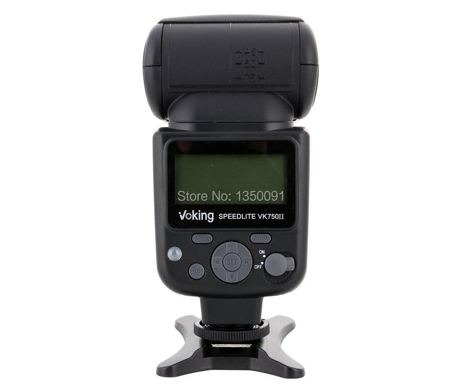 VK750II-C Flash Voking TTL Speedlite pour Canon 700D 650D 600D 550D 7D 6D 5D Mark ii iii T5i T4i T3i appareils photo reflex numériques