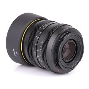Image 3 - Kamlan Lens 50 Mm F1.1 APS C Grote Diafragma Handmatige Focus Lens Voor Canon EOS M Nex Fuji X M4/3 camera S Met Zonnekap