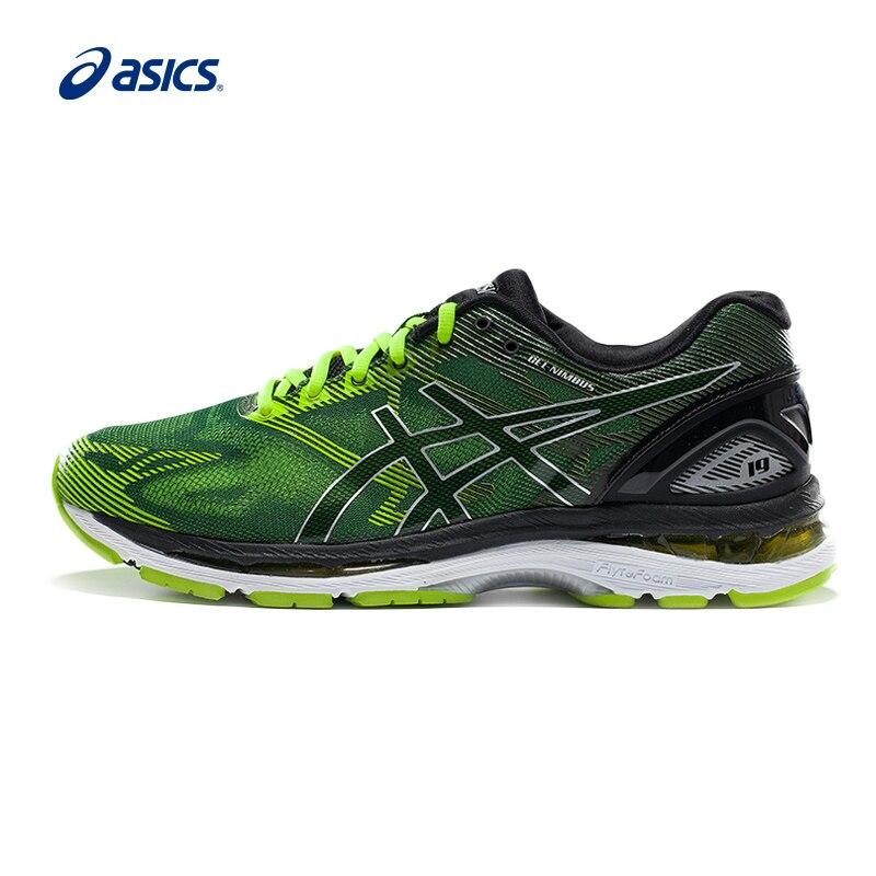 ASICS GEL-NIMBUS 19 Cushioning Sneakers Men Hard-Wearing Encapsulated Breathable Fencing Shoes Men