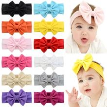 Hairband Elastic Hair-Accessories Baby-Girls Cotton Cute Soft 1pcs/Lot 907
