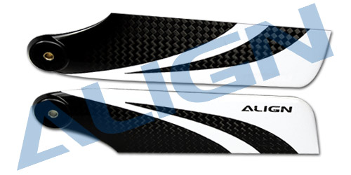 Align Trex 115 Carbon Fiber Tail Blade HQ1150B Trex 800 Spare Parts  Free Shipping with Tracking align trex 550e three tail blade set h55t005xxw trex 550 spare parts free shipping with tracking