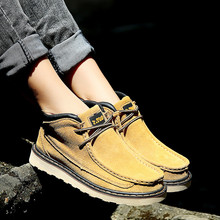 New Fashion Ladies Ankle Boots  High Genuine Leather Solid Winter Women Casual Shoes Breathable Height Lace Platform Shoes Woman