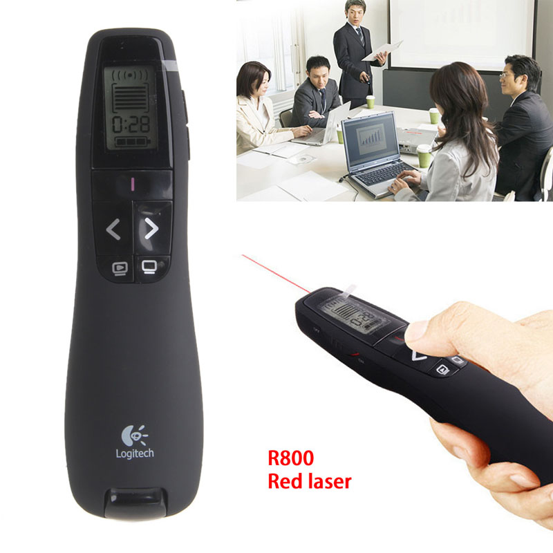 Free shipping Pro Presenter Wireless Presenter 2.4GHz R800 Laser Pointer USB Receiver With BagFree shipping Pro Presenter Wireless Presenter 2.4GHz R800 Laser Pointer USB Receiver With Bag