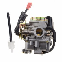 GOOFIT Carburetor for Scooter Carb GY6 50cc 60cc 80cc Chinese 139qmb Moped 49cc N090-073-1