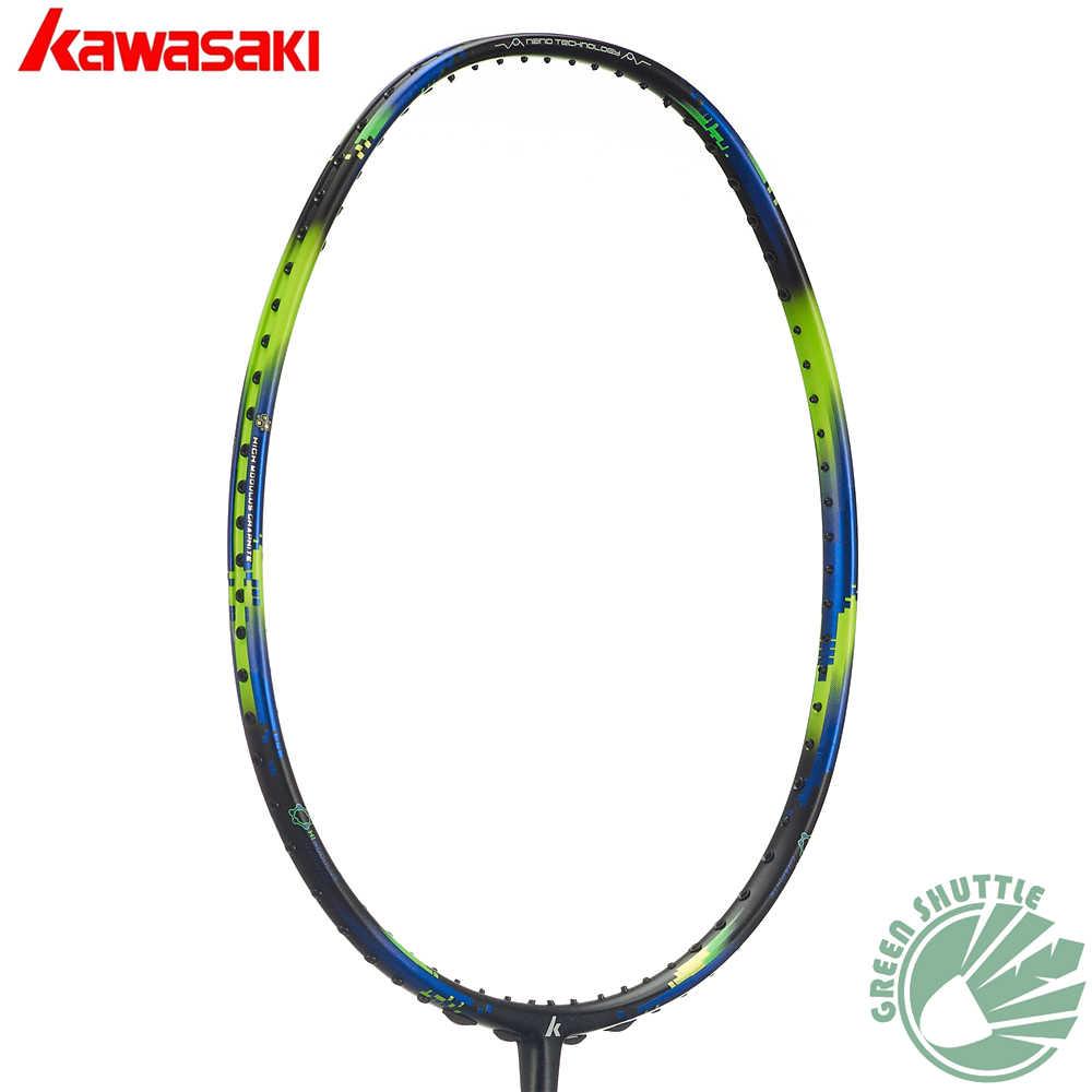 2019 Kawasaki 6U Super Light Nano Carbon Fiber Badminton Racket Aerofoil Frame  6800 680 Badminton Racquet