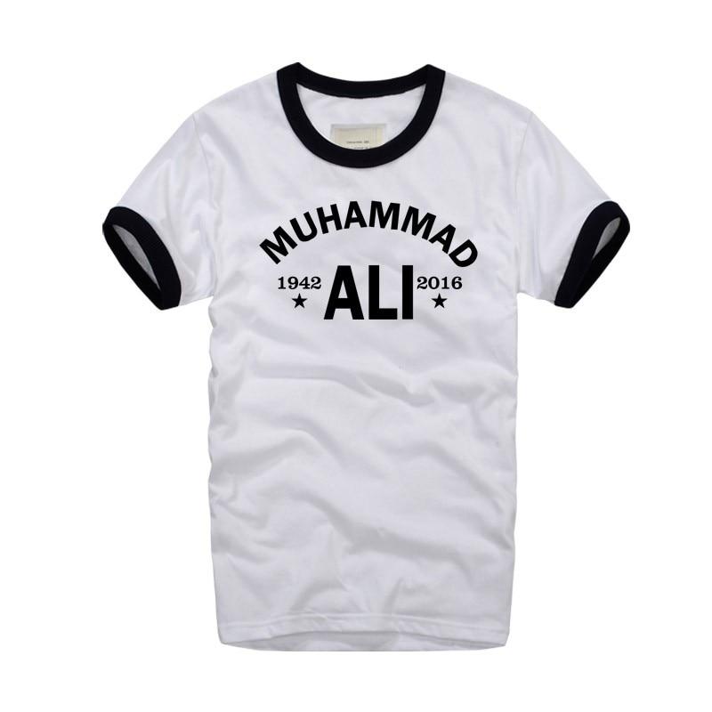 MMA Cassius Kil Muhammed Ali Retro T Gömlek Bağbozumu erkek T-Shirt - Erkek Giyim - Fotoğraf 2