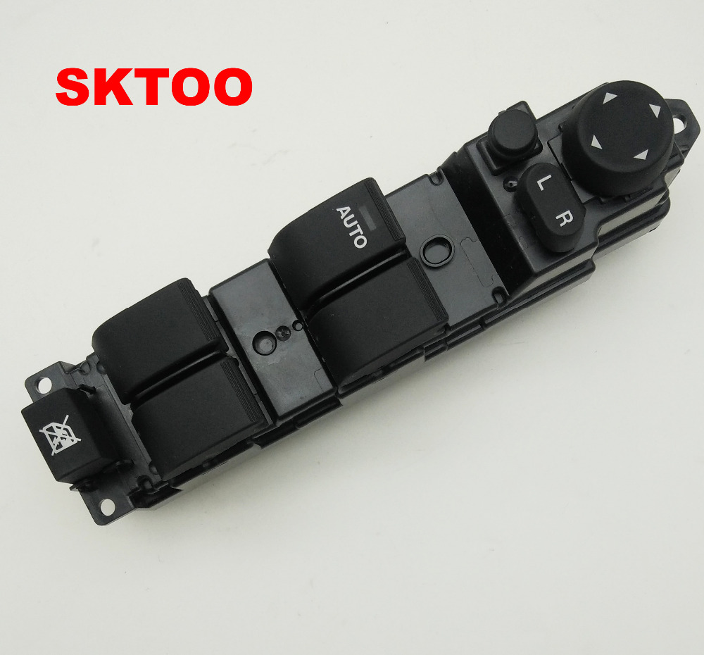 SKTOO window lifter switch for 2007-2013 Mazda 2 glass lifter switch left front door and window switch free shipping for kia sportage door window switch with side mirror switch window lifter switch