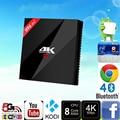 S912 H96 Pro Plus Amlogic Caixa de TV Android Octa-Core 3G/32G Marshmallow Tv Box 2.4G/5.8 GHz Wifi HDMI 4 K HDR BT4.1 Mídia jogador