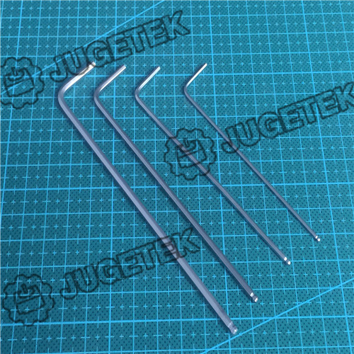 1set High Quality 1.5mm&2mm&2.5mm&3mm Hex Key Allen Wrench With Ball Tip(Ball Head Allen Wrench )