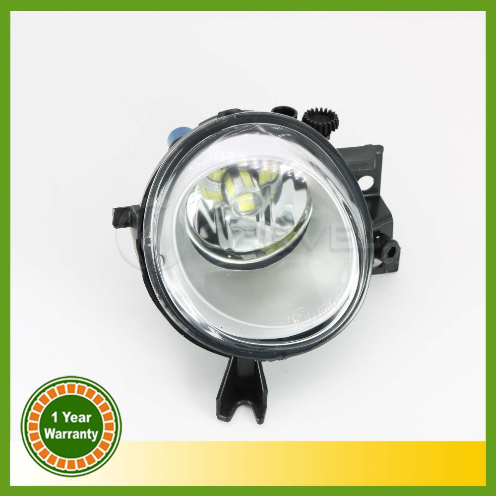 Car Styling LED Light For VW Touareg 2003 2004 2005 2006 2007 Left Side LED Front Bumper Fog Lamp Fog Light With Bulb for vw golf 5 2004 2005 2006 2007 2008 2009 high quality 9 led left side front fog lamp fog light