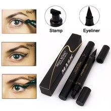 Liquid Eyeliner Pencil Stamp Waterproof Black