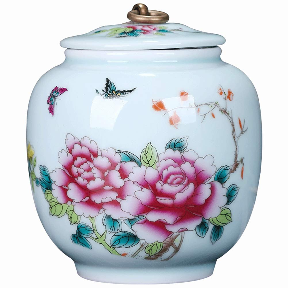 Cremation Urn - Funeral Urn for Pet - Made in Ceramics & Hand-Painted- Display Burial Urn at Home or in Niche at ColumbariumCremation Urn - Funeral Urn for Pet - Made in Ceramics & Hand-Painted- Display Burial Urn at Home or in Niche at Columbarium