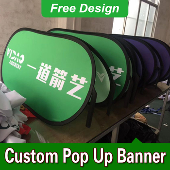 Free Design Free Shipping Vertical Top Banner Frame Pop Up Signs A Frame Banner Stand