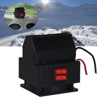 VEHEMO Car Auto Electric Fan Heater Windshield 12V 150W Windshield Defroster Car Winter Warmer Air Blower