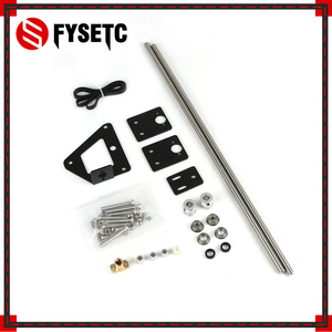 Image 4 - 3D Printer Part Dual Z axis Upgrade Kit Dual Z Tension Pulley Set For  Ender 3 3D Printer Single Motor Dual Z axis