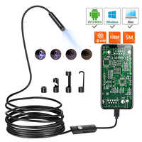 1080P New Full HD Mini Android Camera Endoscope IP67 1920*1080 2m 5m Micro USB Inspection Video Camera Snake Borescope Tube