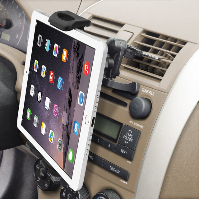Uniwersalny 7 8 9 10 11 Tablet uchwyt na telefon do samochodu stojak do montażu uchwyt wentylacyjny do ipada 2 3 Air Tablet PC Soporte Tablet do Samsung