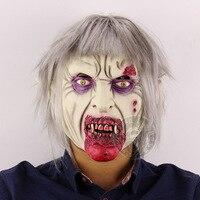 Monstro Assustador Esqueleto realista Máscara De Látex Traje Alienígena Freddy Kluge Gollum Crânio Horror Máscaras de Zumbis Para Cosplay