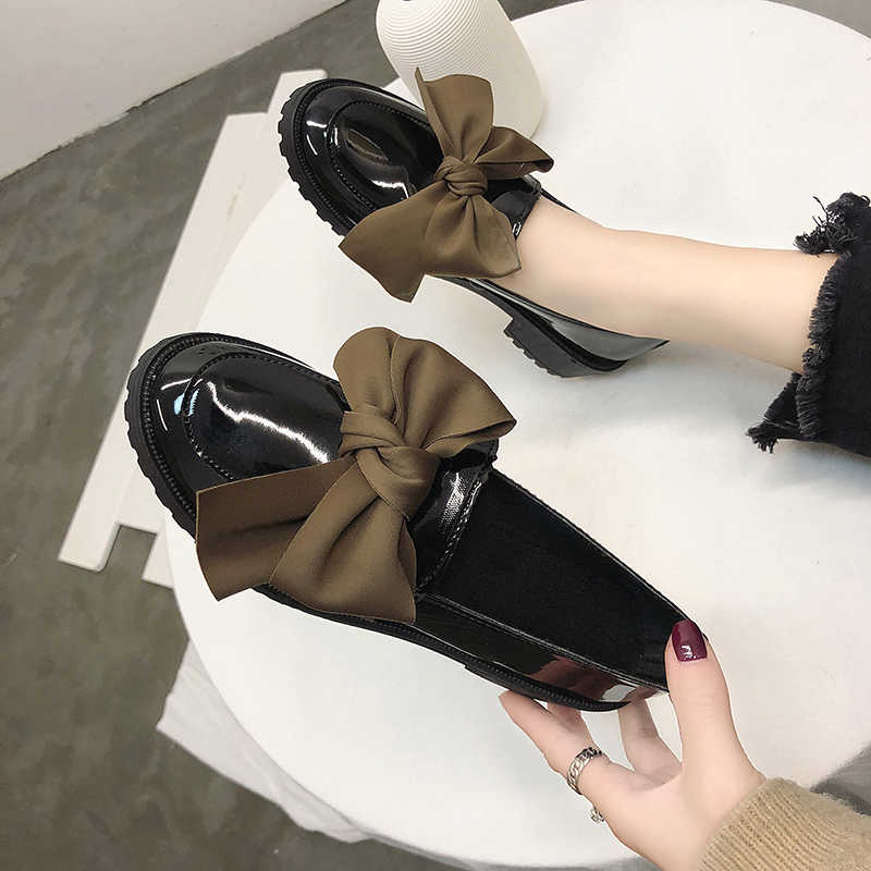 papillon appartements Noeud femme Oxfords femmes chaussures 0n8mwvN