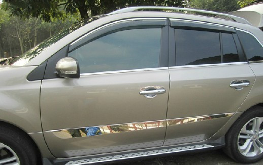 High-quality stainless steel body side moldings side door decoration For 2009-2013 Renault Koleos набор для вышивания крестиком rto никогда не унывай