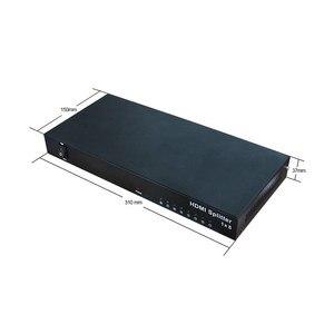 Image 4 - 1x8 hdmi splitter AMS H1S8 unterstützung 1080p 3D 4K HD auflösung wie dtech DT 7148 in dicolor led vermietung backlit display