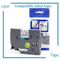2 piezas TZe 231 compatible Hermano P-touch 12mm cinta TZ-231 TZe-231