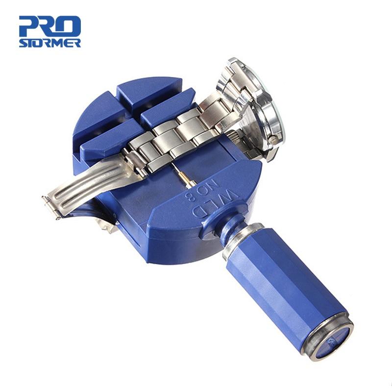 Prostormer Watch Repair Tool Kit Watch Link For Band Slit Strap Bracelet Chain Pin Remover Adjuster 28mm For Men/Women Watch Переносные часы