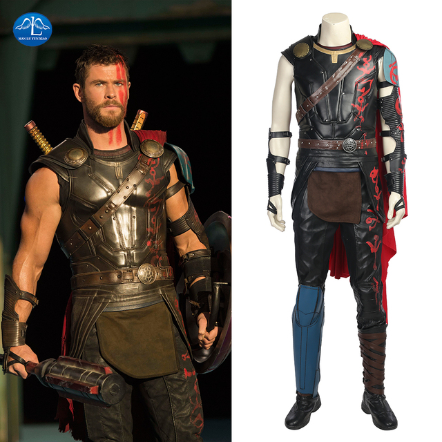Thor Ragnarok Thor Costume Movie Superhero Cosplay Costume ...