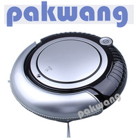 Robot Vacuum Cleaner With LCD Display Side Brush Alarm System Self Charge Schedule Cleaning Industrial