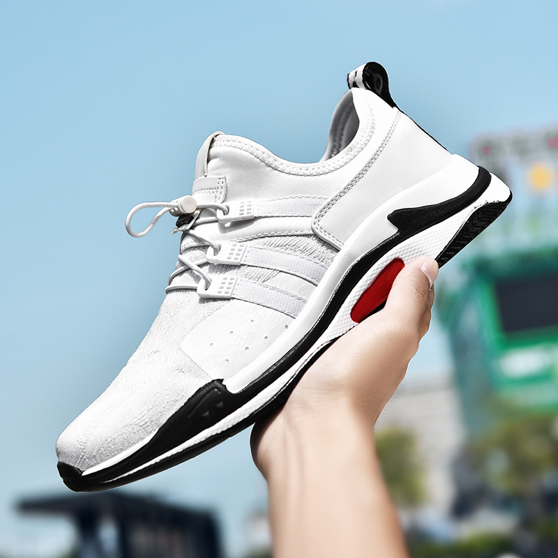 Hot Sell Men Athletic Shoes Sport Sneakers Running Shoes for Man Black White Gym Trainers Cheap Free Shipping