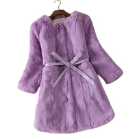 Hot Sale New Women Winter Jacket Slim Warm Thick Feather Faux Fur Coats Female Three Quarter
