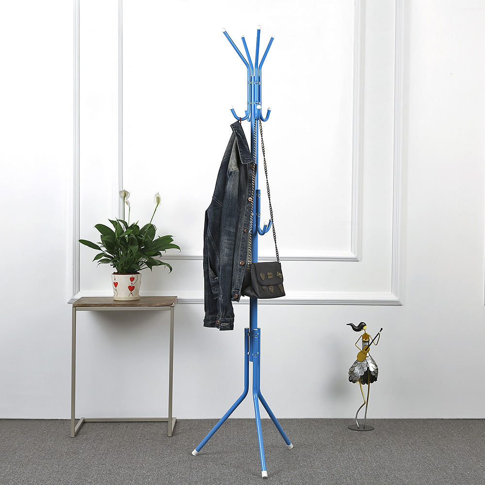 office coat hangers. IKayaa US UK FR Stock 2 Layer 8 Hooks Metal Frame Coat Hat Rack Stand Hanger Cloth Jacket For Living Room Office Hallway-in Storage Holders \u0026 Racks Hangers A