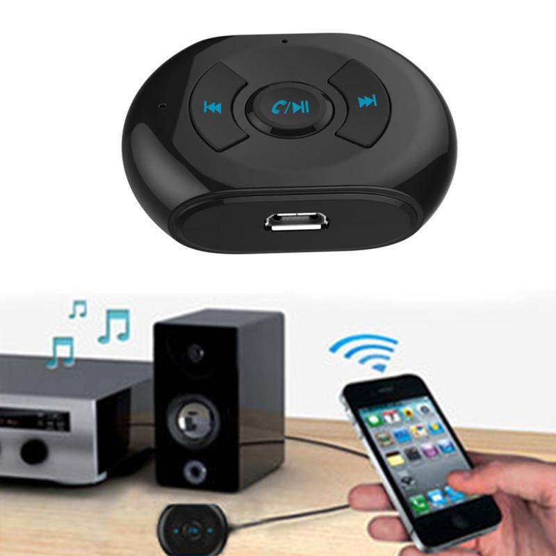G0003 3.5 mm Bluetooth 4.0 Music Receiver Portable Wireless Bluetooth AUX Audio Receiver Adapter for Stereo Speaker