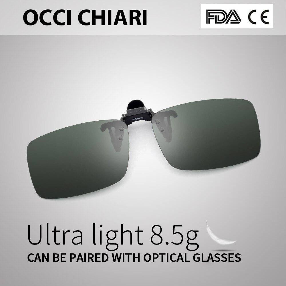 78b933839f Detail Feedback Questions about green Polarized Clip On optical glasses Men  Custom prescription lenses glasses drive OCCI CHIARI HG802 on  Aliexpress.com ...