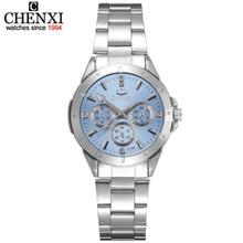 CHENXI Women Fashion Watches Ladies Quartz Watch Women s Elegant Dress Stainless Steel Wristwatches Girl Clock