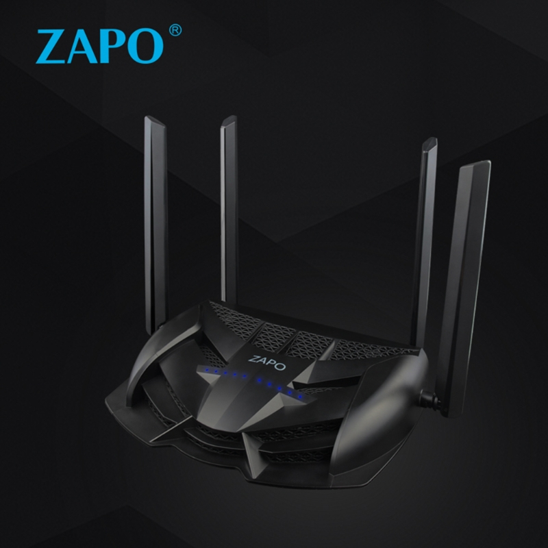New Gaming Router 1200Mbps Dual Band USB Wireless Network AC 2.4GHz/5GHz Gaming Router Repeater hot