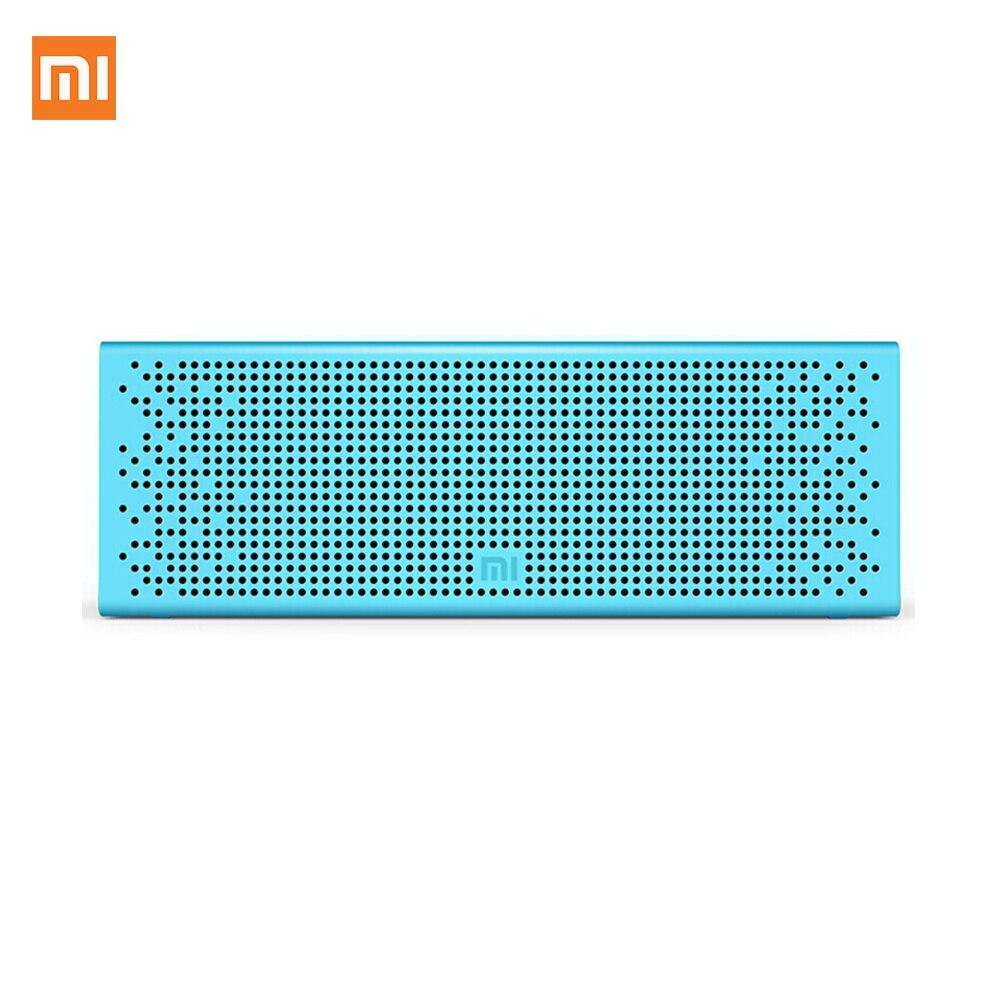 Mi портативный Bluetooth динамик открытый беспроводной динамик с HD звуком Встроенный микрофон Hands Free динамик телефон плеер для домашнего путешес...